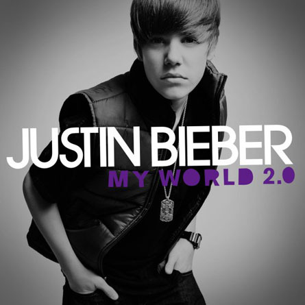 justin bieber cd cover my world 2.0. makeup justin ieber cd my