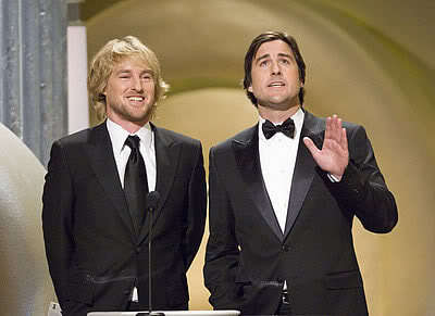 Luke Wilson, Owen Wilson and Tory Belleci (if he counts, because he's on Mythbusters)