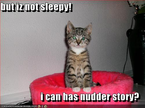 Nope, its zaidi like I should be in bed, time. Its 2:19am Eastern Pacific Time.