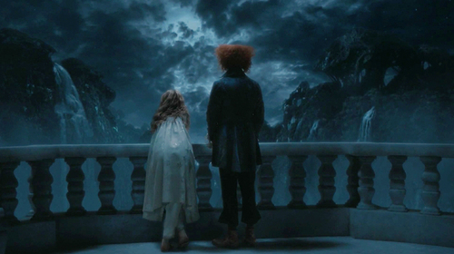 Well, since I'm not sure which quote you're looking for, I'll just transcribe the whole scene for you. Hatter: Have bạn any idea why a Raven is like a nghề viết văn desk? Alice: Let me think about it. Hatter: bạn know what tomorrow is, don't you? Alice:...Frabjous day, how could I forget. I wish I'd wake up. Hatter: Still believe this is a dream, do you? Alice: Of course. This has all come from my own mind. Hatter: ...which would mean that I'm not...real. Alice: Afraid so. You're just a figment of my imagination. I would dream up someone who's half mad. Hatter: Yes, yes...uh, but bạn would have to be half mad to dream me up! Alice: I must be then......I'll miss bạn when I wake up.