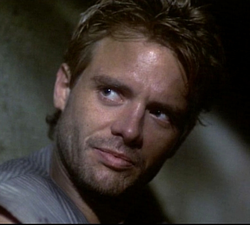 Movie character? Uh...Kyle Reese from ターミネーター Note: This might change