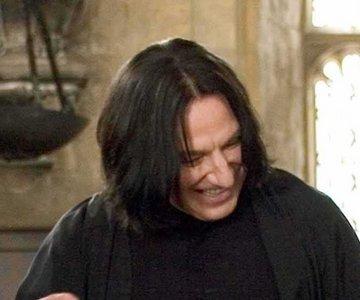 Snape: OMGZX THAT WUZ LYK SUCH A FUNNY JOKE!!!111