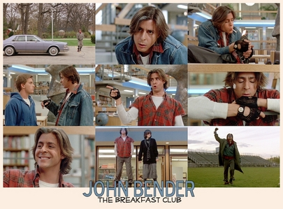 Bender from The Breakfast Club <3 Because he's hilarious and his one-liners are the best ever. Plus he's kinda hot in that role.