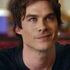 Damon Salvatore from the Vampire Diaries