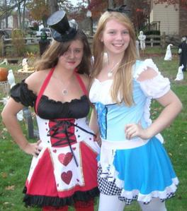 I loved when i was a vampire but i really like my Queen of hearts costume last year.