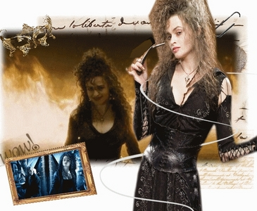 Witch, I've been called one before- HE HE. I admire Bellatrix she could be my mentor