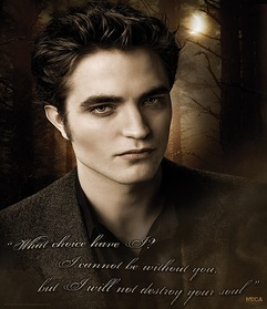 i would want be a vampire just like edward
