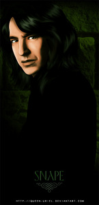 Severus, without a doubt! He's so... fascinating.
