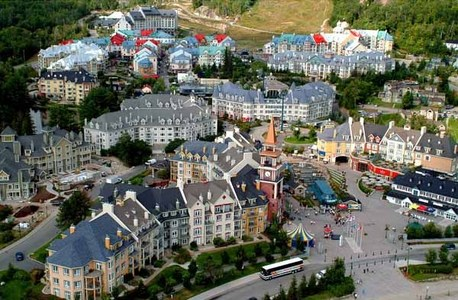 Mont Tremblant in Canada is beautiful...
