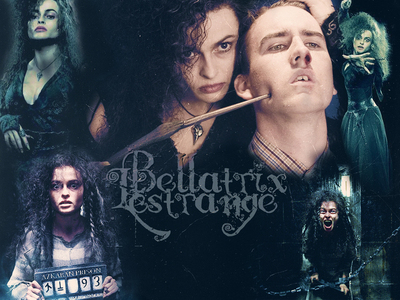 Bellatrix, of course! Let's see... Bella: Quick Description: Personalityless Mary Sue Hobbies: Not Applicable. Accomplishments: Um... Not dying? There's really nothing, because she hasn't done anything Role in the Book: Protagonist Why she is this Role: Um... Because she's a SMeyer wannabe? Does that count: Good Traits: SMeyer would like us to believe that she is made up of every good trait imaginable. However, if tu stop to try to think of examples, there really are none. Sad, really. Oh, she's pretty! Does that count? Flaws: Again, SMeyer would like us to believe that she has none. However, we know better. We know that she abuses her friends, is utterly anti-feminist, is slutty, mean, arrogant, shallow, boring, annoying, endlessly whiny, has no life, is a bad parent, doesn't care about her friends, unfeeling, apathetic, skips college to be a maid to Edward, teenager getting pregnant, and basically lacks character. Bellatrix: Quick Description: Derangedly beautiful interesting sadist Hobbies: Torturing People Accomplishments: Torturing Neville's parents (Frank and Alice) into insanity, Voldemort's favorito! Death Eater, escaped Azkaban, killed Sirius Role in the Books: Most loyal servant of the main antagonist (Voldemort, for those of tu who do not know). Why she is this Role: She loves torturing people, she thinks all Muggleborns and Muggles and non-wizards are worthless scum, she is nasty to everyone, she loves Voldemort, and, frankly, she is rather insane. Good Traits: Loyalty (even if it is to Voldemort of all people), determination Flaws: Loves torturing people, sadistic, doesn't care about others. However, it works for Bellatrix because she is supposed to be an antagonist :D There tu have it. Bellatrix wins por far. No competition. :D