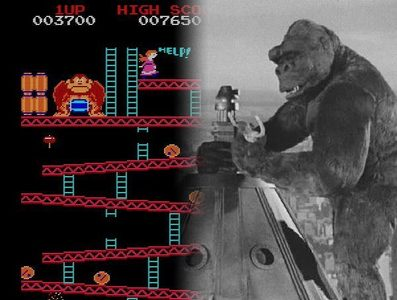 2 things come to mind at the EXACT SAME TIME!! LOL DONKEY KONG!!!!!!! KING KONG!!!!!!!!!