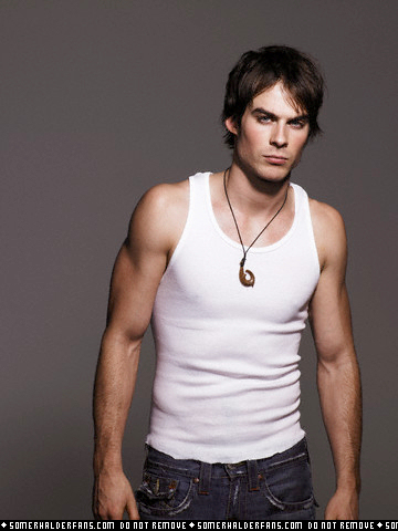 I'll be happy if my guy look like Ian Somerhalder =) In terms of personality- well, I can name all the traits of a perfect guy, but they don't exist, so I won't =P