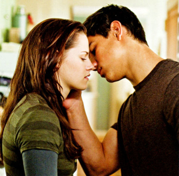 Hotter? I would Say Bella and Jacob.