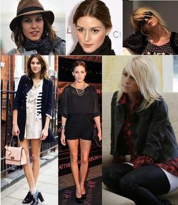 I pag-ibig Alexa Chung's style, as well as Olivia Palermo's and Taylor Jacoson's. Their styles are really different, but all of them inspire me. I have a lot of fashion icons, and it was really hard to choose jus three, imagine just one! lol