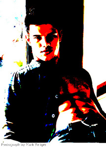 I fell in amor with Jacob Black. 9 hes mine ladies) ( below, I made the pic myself, well,.. I re-did it)