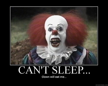 Butterflies, they scare the hell out of me :/ Oh and clowns eww once i seen Stephen King's IT I couldn't look at a clown the same.