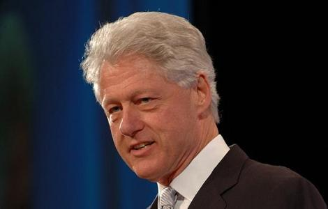 """I went to the book signing when Bill Clinton came out with his book """"GIVING"""". I guess the former president counts as a celebrity."""