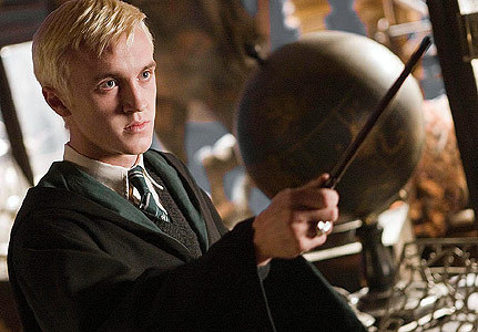 Of course it would be yummy Draco Malfoy... although i've notices that quite a lot of people are claming him... hmmm, no wonder really!