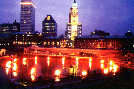 Providence, Rhode Island!!! its tha only pic i could find... its during tha Waterfire