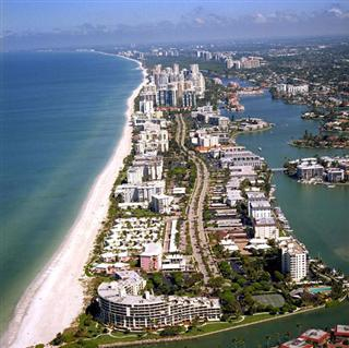 Sarasota, FL. Call it the Sunshine State if tu want, but It's been rainy lately.