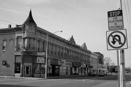 Okay, here we go, Main Street, in boring Staunton, Illinois.