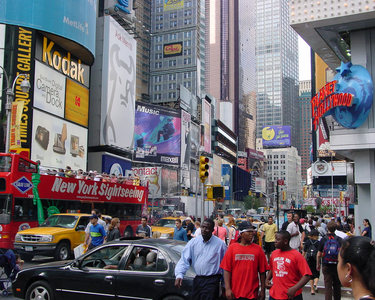 New York,Times Square!