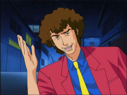 I like comedy anime. Pretty much if it has a character with an afro I like it.