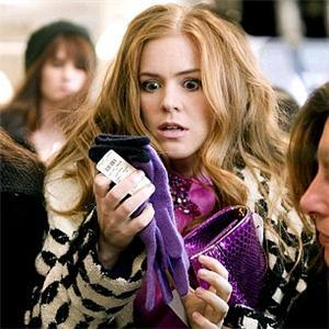 Okay.. I'll try again... :p Isla Fisher is one of the sweetest actresses right now! Love this scene. She's not so pretty in this pic lol, but it's funny.