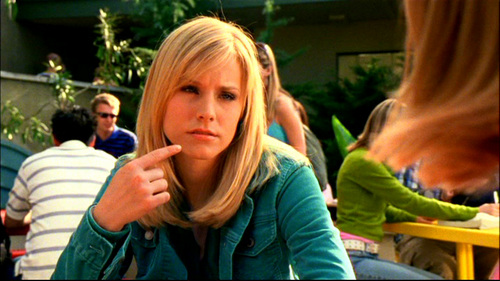 1. VERONICA MARS. Because it was amazing. Nuff said. 2. Freaks and Geeks, because it only got 18 episodes and it was so funny! 3. Flight of the Conchords, because it's HILARIOUS and I need più of it!