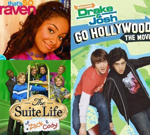 That's so Raven mannetjeseend, drake & Josh The Suite Life of Zach & Cody