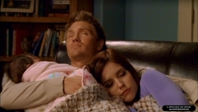 Brooke & Lucas from One Tree Hill. Their scenes give me soo many different feelings that I will love them forever! <3