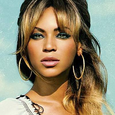 Beyonce,definitely one of the most stunning women in the world:)
