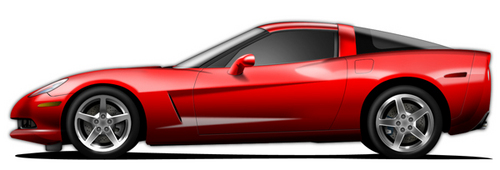 Corvette, especially a red one =D