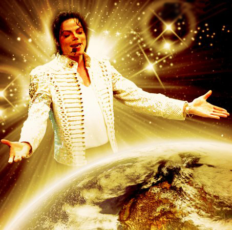 I go with this one because we all know how much Michael wanted to make the world a better place :)