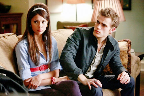Stefan and Elena from TVD are my fave couple.