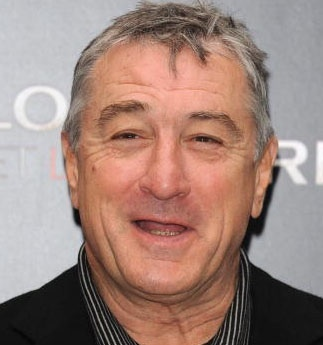 Robert De Niro duh.  He's my favorite actor ever. I have followed his career and I enjoy his movies =D