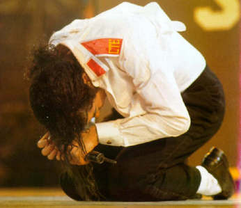 I think this one because it shows his humbleness, and we all know he was very humble. Love u MJ