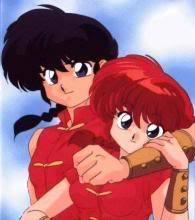Ranma 1/2 would be a good choice. Cuz its made y the same person. Also has most of the same voice cast.