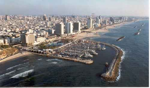 Tel Aviv, Israel. Hooray for google. XD