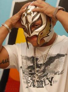 Rey Mysterio..he's just beyond amazing! Sexy, supertalented, just incredible.