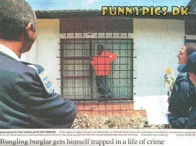 Burglar fial.