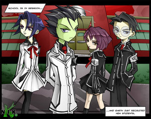 It used to be Invader Zim, but now it's this!! :D