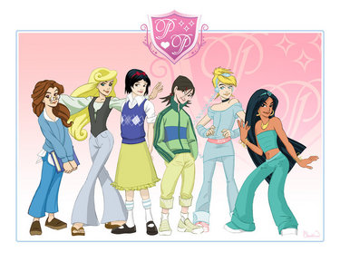 High School Princesses :)