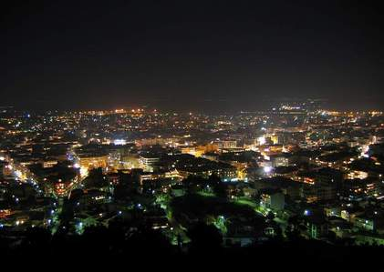 Really small town in Greece...Serres!!!!Luv anda all!!