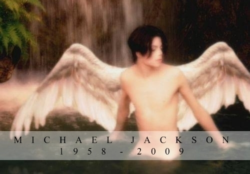 """I will always remeber him, par all he has done for this world, his music, everything the things sitting in my house. And once toi become a MJ fan and toi find out the truth of him, his real life, not """"his"""" tabloid life, made up par the reporters, you'll always remember him. He is our angel. l'amour toi Michael!!"""