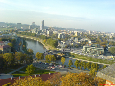This is my city Vilnius in Lithuania ^_^