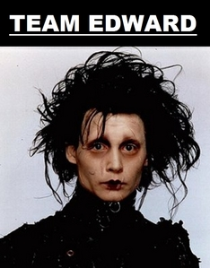 Definately Edward Scissorhands. He's so cute, sweet, and artistic!