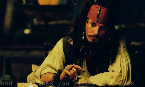 I would upendo to marry with Captain Jack Sparrow!! That killer look,that killer mind....just got me!