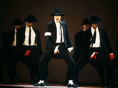 Very hard to choose he wore so many top, boven stage outfits, but I like this one at 1995 MTV Video muziek Awards!!!! :)