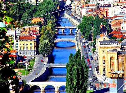 I live in Sarajevo, Bosnia and Herzegovina ♥
